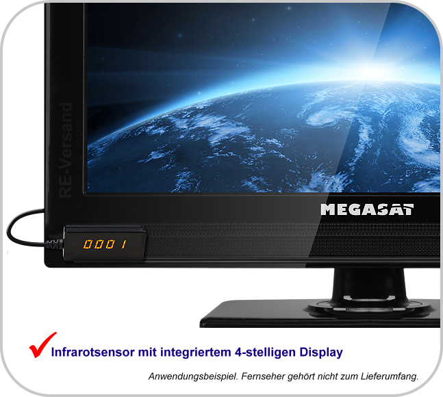 megasat hd stick 310 digitaler hdtv sat receiver 12v 100. Black Bedroom Furniture Sets. Home Design Ideas