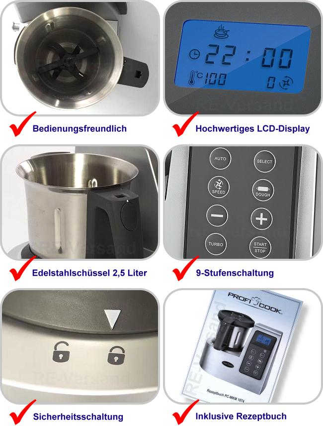 Grossag Küchenmaschine Mkm 100 Erfahrungen 2021